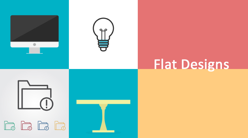 Why Are Flat Designs So Popular?