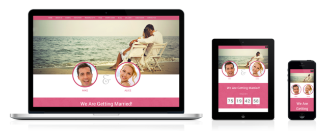 responsive marriage theme